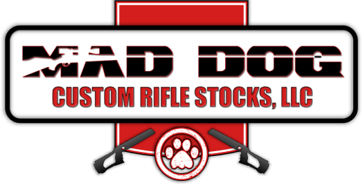 Mad Dog Rifle Stocks Logo